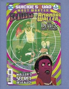 Suicide Squad Most Wanted El Diablo & Amanda Waller #6 VF/NM Harley Quinn