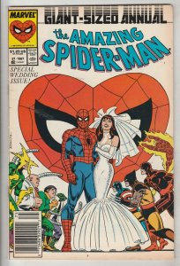 Amazing Spider-Man King-Size Annual #21 (Jan-87) NM- High-Grade Spider-Man