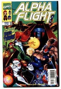 ALPHA FLIGHT VOL. 2  #16--FIRST BIG HERO SIX cameo-LOW PRINT RUN-NM-