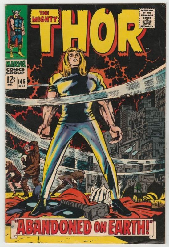 Thor #145 The Mighty strict FN/VF 7.0 High-Grade Appearance - The Circus of Evil