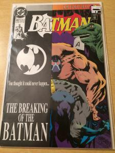 Batman #497 Knightfall Saga