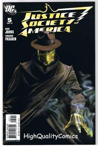 JUSTICE SOCIETY of AMERICA #5, VF+, Alex Ross, 2007, more JSA in store