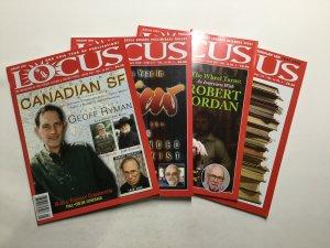 Locus Magazine 2006 540-542 544-551 Lot Very Fine Vf 8.0 Locus Publications