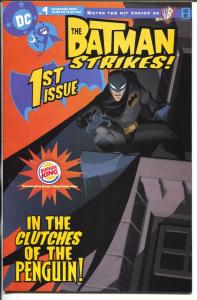 Batman Strikes #1 2004-DC-Burger King giveaway-not in price guide-VF