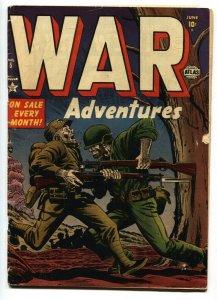 War Adventures #5 1952- Atlas Brutal BAYONETING cover