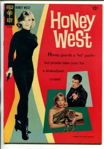 HONEY WEST #1 1966-GOLD KEY-1ST ISSUE-ANNE FRANCIS-JOHN ERICSON-TV-vf