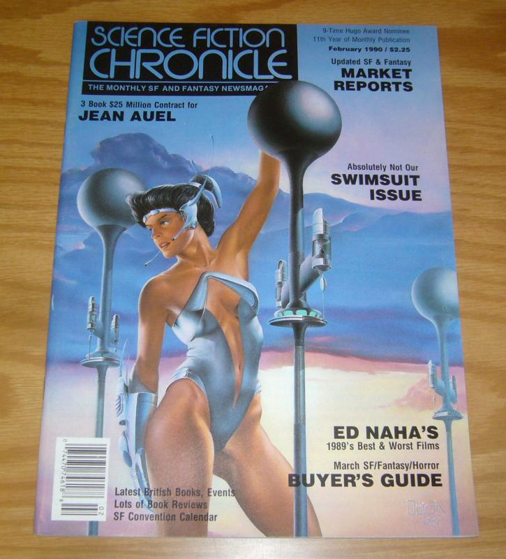 Science Fiction Chronicle #125 VF; Algol | save on shipping - details inside