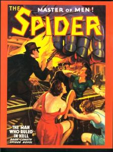 THE SPIDER #46-PULP - THE MAN WHO RULED IN HELL VF/NM