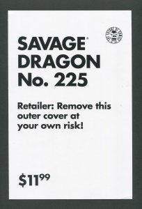 Savage Dragon #225 / 9.8 NM-MT (Mature Cover) July 2017