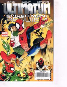 Lot Of 3 Ultimatum Marvel Comic Books # 1 2 Spider-Man Requiem + X-Men # 1 J88