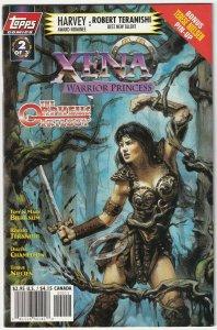 Xena Warrior Princess #2 April 1998 Topps Comics