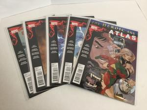 Atlas 1-5 Heroic Age Lot Set Run Nm Near Mint Marvel Comics A42
