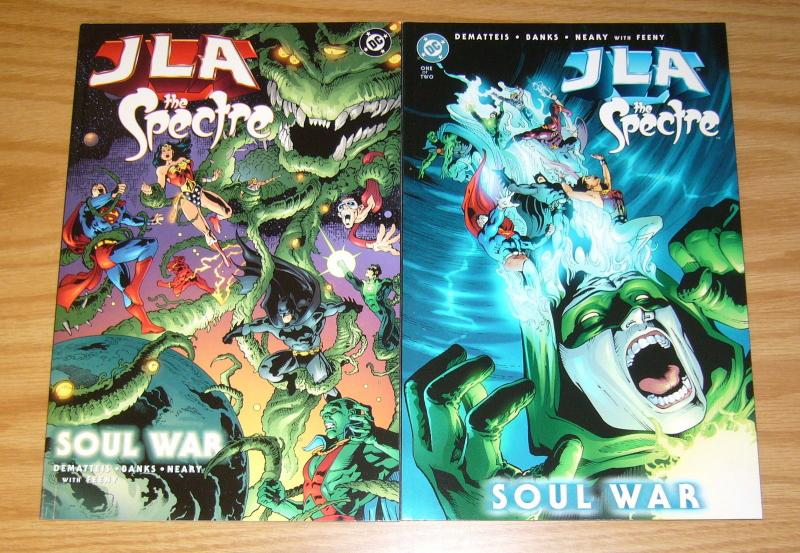 JLA/the Spectre: Soul War #1-2 VF/NM complete series - j.m. dematteis set lot