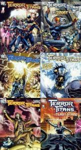 TERROR TITANS (2008) 1-6  Complete TEEN TITANS SpinOff! COMICS BOOK