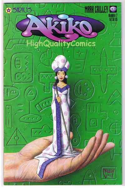 AKIKO #7, NM+, Mark Crilley, 4th Grader, 1996, more indies in store