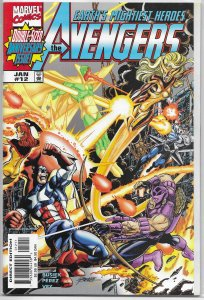 Avengers (vol. 3, 1998) #12 VF/NM Busiek/Perez, Thunderbolts