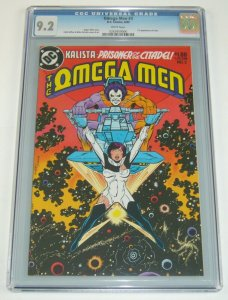 Omega Men #3 CGC 9.2 dc comics - 1st appearance of lobo - white pages bronze age