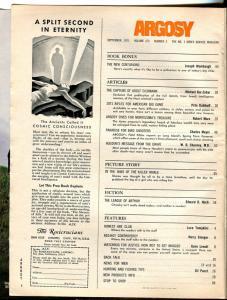 Argosy 9/1971-Adolf Eichman-Hitler-Joseph Wambaugh-pulp thrills-VG