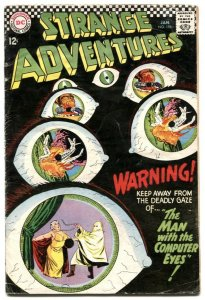 Strange Adventures #196 1967- DC Silver Age VG