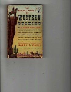 3 Books Pocket Book of Western Stories Dope, INC Elvis Mystery Thriller JK30