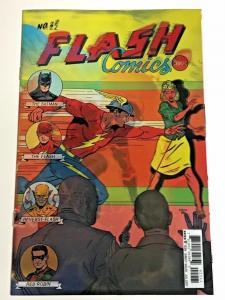 FLASH#22 NM 2017 LENTICULAR COVER REBIRTH DC COMICS