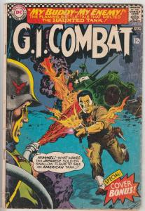 G.I. Combat #118 (Jul-66) GD Affordable-Grade The Haunted Tank