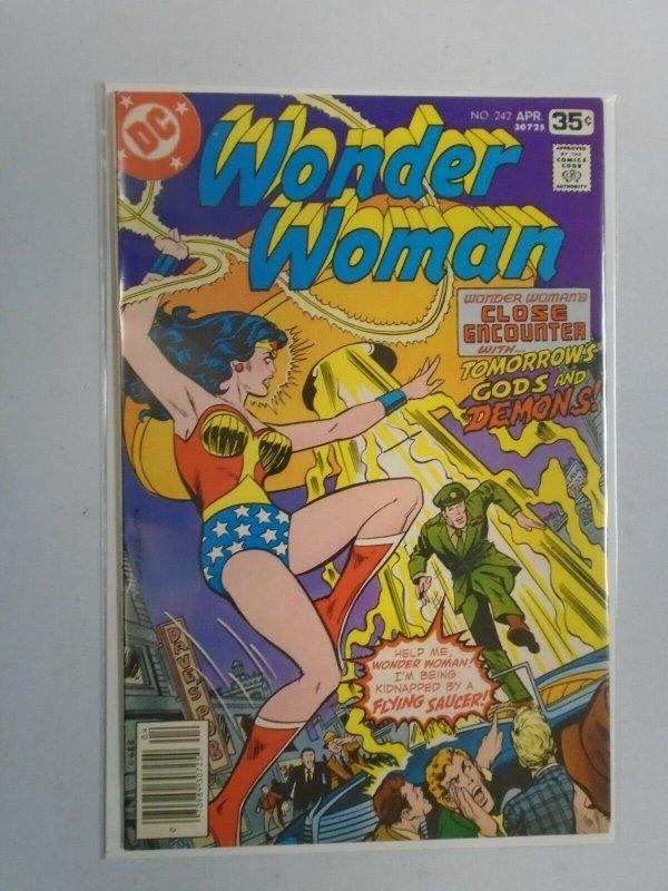 Wonder Woman #242 7.0 FN VF (1978 1st Series)
