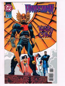 Hawkman #6 VF DC Comics War Cry Comic Book Wonder Woman 1994 DE16