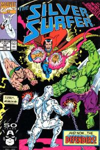 Silver Surfer (1987 series) #58, NM (Stock photo)