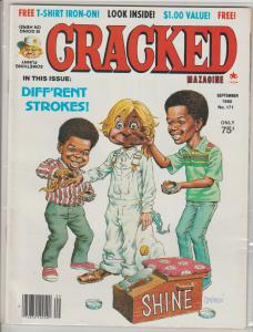 CRACKED  #171 - SEPT 1980  - HUMOR COMIC MAGAZINE