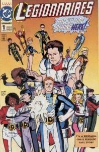 Legionnaires #1, NM + (Stock photo)