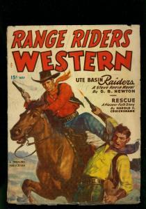 Range Riders Western Pulp May 1950- Steve Reese- Harold Cruickshank -VG