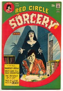 Red Circle Sorcery #6 1974- Gray Morrow- Vampire VF