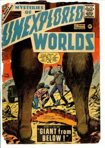 Mysteries of Unexplored Worlds #15 1959-Charlton-weird horror-P/FR