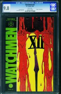 Watchmen #12-cgc 9.8 DC 1987-Death Of Rorschach- 0207112029