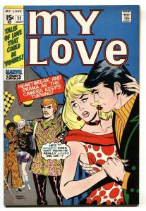 My Love #11 1971-pyschedelic clothes cover-Don Heck FN/VF