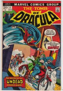 Tomb of Dracula #11 (Aug-73) VF/NM High-Grade Dracula