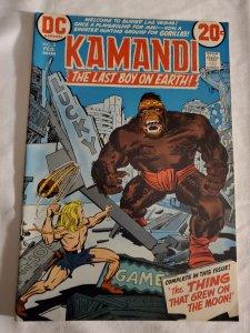 Kamandi 3 Very Fine- Cover by Jack Kirby