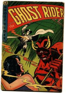 Ghost Rider #12 1951-ME-western horror--Dick Ayers-Great cover!