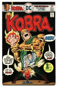 KOBRA #1-comic book-GREAT DC ISSUE-Black Lightning