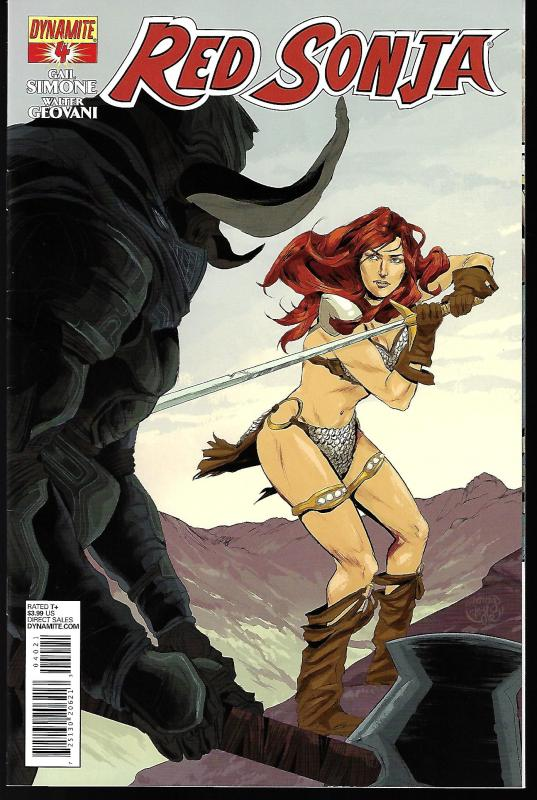 Red Sonja #4 (Dynamite) - Ming Doyle  Cover