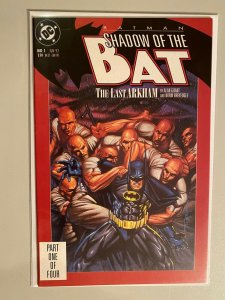 Batman Shadow of the Bat #1 6.0 FN un-polybagged (1992)