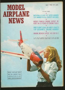 Model Airplane News April 1962 FJ-3 Fury Cover
