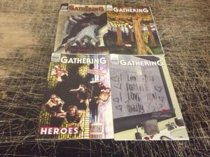 Lot Of 4 The Gathering Gray Haven Comics Books # 3 16 Second Date Into Abyss V5