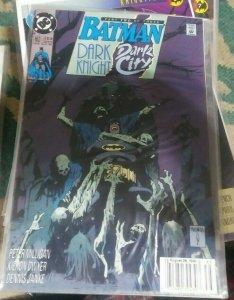 BATMAN #453 1991 DC COMICS  DARK KNIGHT DARK CITY PT 2  tim drake robin RIDDLER