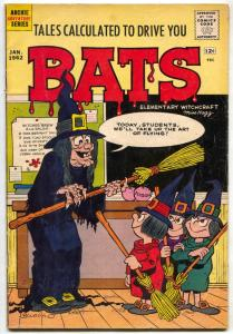Tales Calculated To Drive You Bats #2 1962- Archie Horror/Humor Witch cover