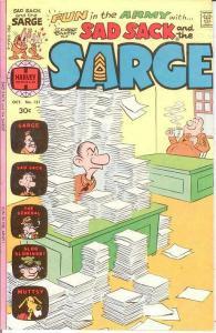 SAD SACK & THE SARGE (1957-1982) 121 FINE COMICS BOOK