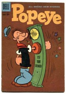 Popeye #52 1960- Dell silver age comic VG
