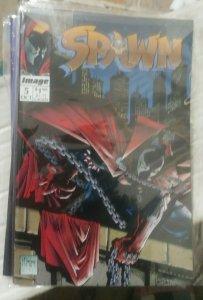 SPAWN # 5 1992 DIRECT VARIANT KEY 1ST APPERANCE SAM AND TWITCH MCFARLANE