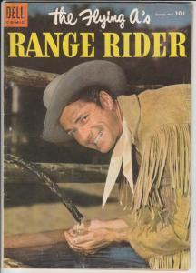 Flying A's Range Rider #9 (Mar-55) FN/VF Mid-High-Grade Range Riders